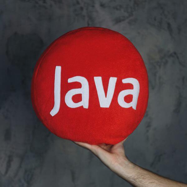 Java подушка