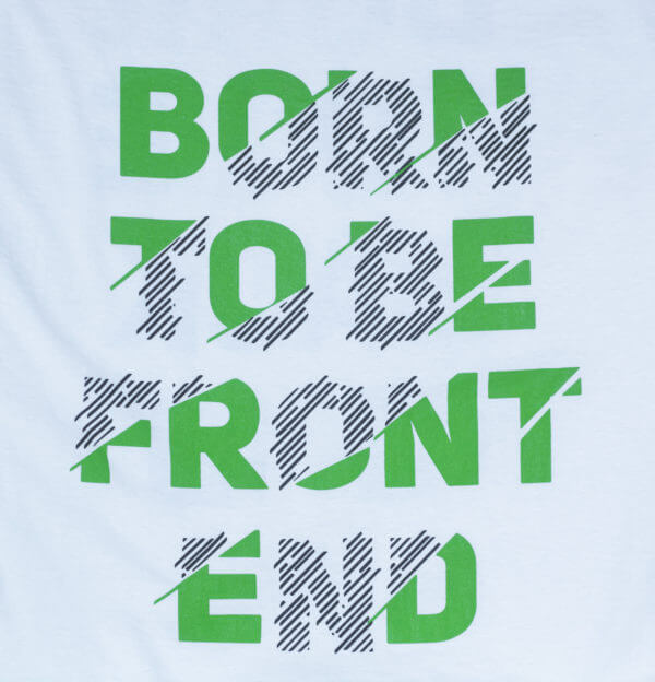 Front end t-shirt