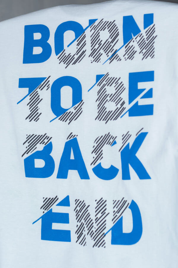 Back end t-shirt