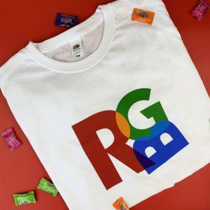 футболка RGB дизайнеру